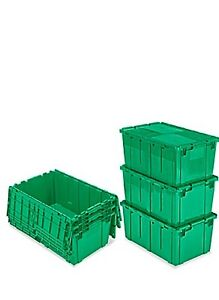 Renting Recycled Green Bins For Local Moves