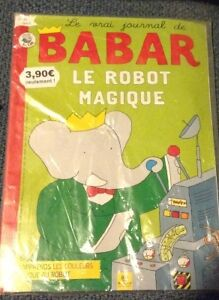 Babar french magazine for sale