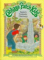 """Vintage Cabbage Patch Kids """"Xavier's Fantastic Discovery"""""""