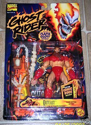 Marvel GHOST RIDER OUTCAST action figure Toybiz moc