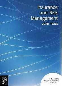 Insurance and Risk Management by J. Teale (Paperback, 2008)