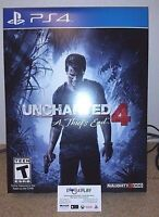 Uncharted 4 A Thief's End PS4 Game West Island Greater Montréal Preview