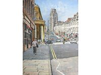 'Park Street', Bristol, UK. By renowned artist Lionel Aggett.
