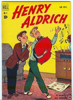 Henry Aldrich #4 File Copy January 1951 VF/NM