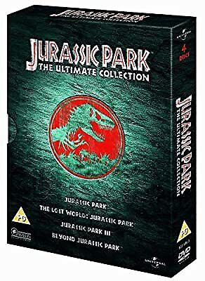 Jurassic Park: The Ultimate Collection 4 DVD Boxset, , Used; Good DVD
