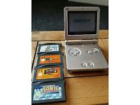 Nintendo Gameboy Advance SP AGS-001 With games