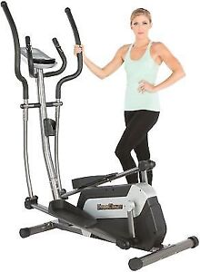 Fitness Reality E5500XL Magnetic Elliptical Trainer with Com