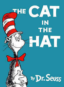 The Cat In The Hat by Dr Seuss Hardcover Book VGUC