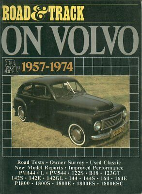 VOLVO PV444 PV544 AMAZON 144 164 P1800 1800S & 1800ES 1957-1974 ROAD TESTS BOOK