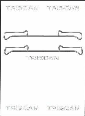 TRISCAN 8105 101642 Zubehörsatz Bremsbelag Bremsklötze für VW AUDI SEAT