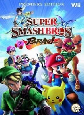 Super Smash Bros. Brawl ( Das Offizielle Lösungsbuch ) NEU - Deutsch