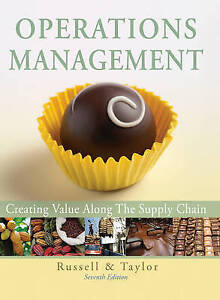 Operations Management: Creating Value Along the Supply Chain by Bernard W....