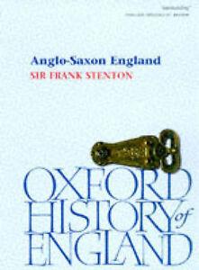 Anglo-Saxon England (Oxford Paperbacks)-ExLibrary