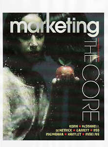 New and Sealed Marketing: The Core by Roger A. Kerin Paperback Book