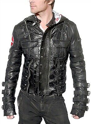 Biker Fashion Genuine Leather Jacket (Small to XL), used for sale  City of London, London
