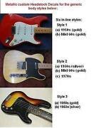 Guitar Decals
