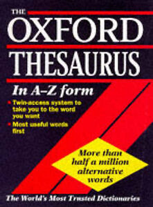 THE OXFORD THESAURUS.