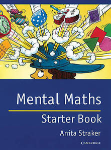 Mental Maths Starter book: Starter Book by Anita Straker (Paperback, 1996)