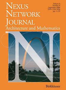NEW Nexus Network Journal 8,2: Architecture and Mathematics