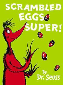 Scrambled Eggs Super Mini Edition BY DR Seuss Hardback 2006 0007175965 ...