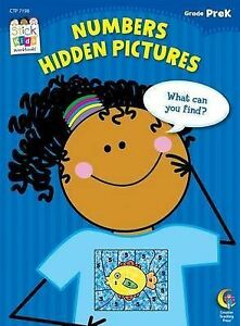 Numbers Hidden Pictures, Grade PreK by Creative Teaching (P/B) Teacher Resource