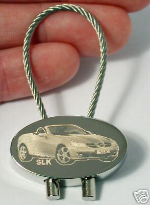 Mercedes SLK Gurt  Anti Gurt Piepton Key Chain Carbon Schlüsselanhänger Z050.1