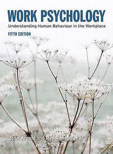 Work Psychology (5th Edition)-ExLibrary