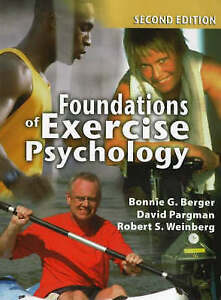 Foundations of Exercise Psychology, Good Condition Book, Weinberg, Robert S., Pa