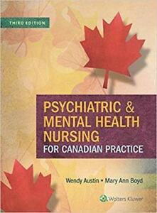 Psychiatric and Mental Health Nursing For Canadian Practice 3rd edition