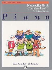 Alfred's Basic Piano Library: Alfred's Basic Piano Course, Notespeller Book,...