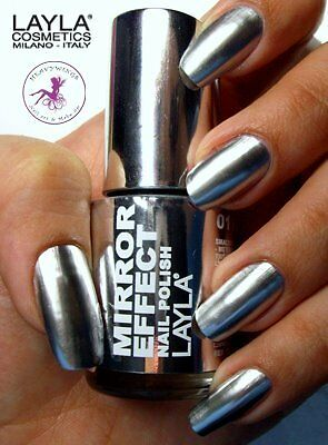 MIRROR EFFECT METAL CHROME NAGELLACK by LAYLA COSMTICS