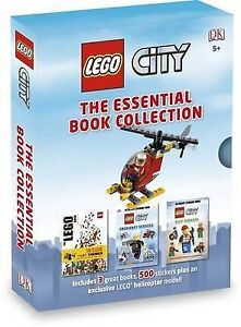 NEW LEGO CITY : The Essential Book Collection By DK Publishing Hardcover