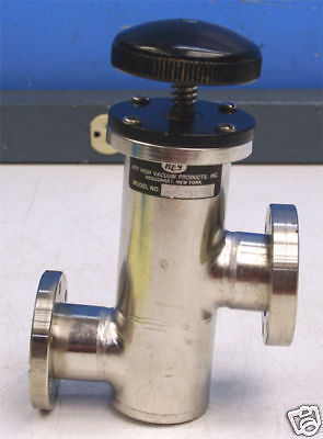 Key High Vacuum Products Inc. Sl-150 Valve