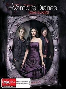 Vampire Diaries season 1-5 BRAND NEW Noble Park Greater Dandenong Preview