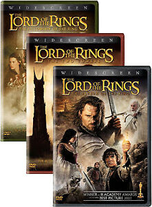 Lord of the Rings DVD Set