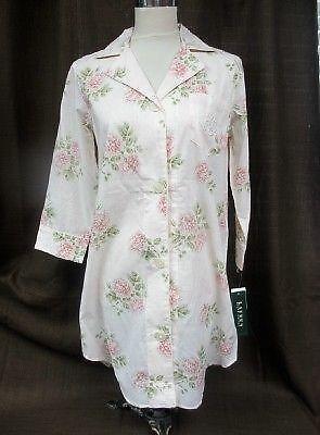 Button Front Nightgown Sleepwear Amp Robes Ebay