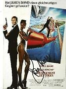 Roger Moore Signed