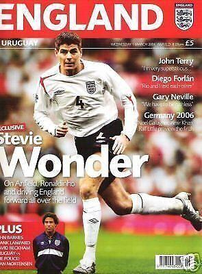 * ENGLAND v URUGUAY 2006 *