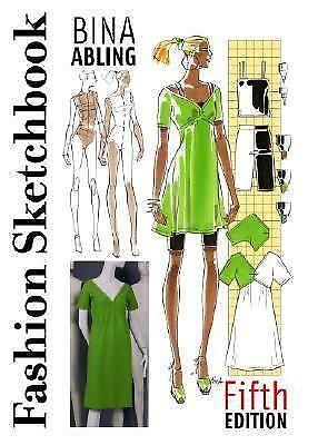 Fashion Sketchbook Bina Abling Ebay
