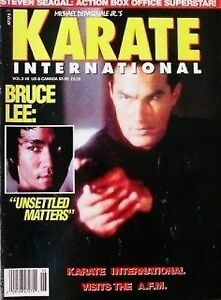 5/93 KARATE INTERN. STEVEN SEAGAL BRUCE LEE BLACK BELT KUNG FU