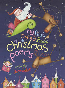 My First Oxford Book of Christmas Poems, , Book Hardcover With Dust Jacket