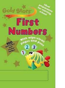 Gold Stars Wipe Clean Workbook: Numbers by Parragon Book Service Ltd