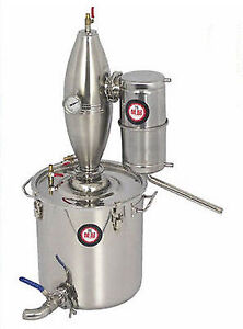 Stainless 65L Distiller Home Making Wine Beer Water Alcohol Brew