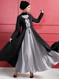 Jacket & maxi dress