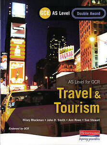 GCE as Travel and Tourism for OCR: Double Award-ExLibrary