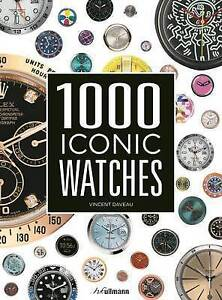 Vincent Daveau-1000 Iconic Watches  BOOK NEW