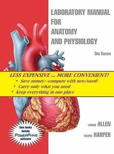 Laboratory-Manual-for-Anatomy-and-Physiology-3rd-Edition-RRP-170-FREE-POSTAGE