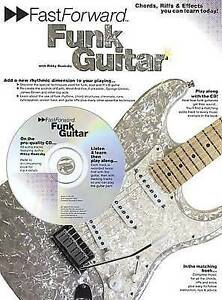 Fast Forward: Funk Guitar, Good Condition Book, Rikky Rooksy, ISBN 9780711982222