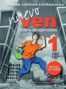 Nuevo Ven 1: Libro De Ejercicios by Francisca Castro Viudez (Mixed media...