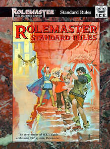 Rolemaster Standard Rules Rolemaster Standard System  Very Good Book - Consett, United Kingdom - Rolemaster Standard Rules Rolemaster Standard System  Very Good Book - Consett, United Kingdom